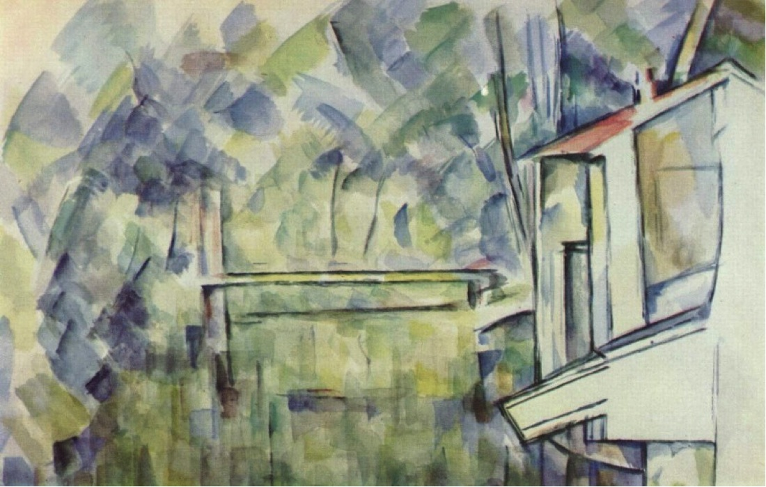 Paul Cézanne, Mill on the River, 1900–06, Watercolor, Marlborough Fine Art Ltd. London